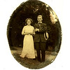 Josephine Kendall and Herbert Benton Henegar courting, in Knoxville TN prior to the wedding in May 1918 in San Diego CA