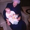 1967 12 2X-FEB68F4_13-Grandma,_Johhnys_1st_Christmas