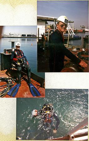 college of oceaneering, wilmington, ca. 1991
