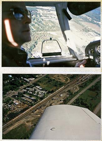 Dave Piloting, Michigan 1987