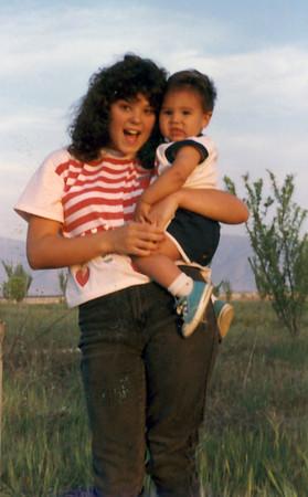Tina and Joey 1988