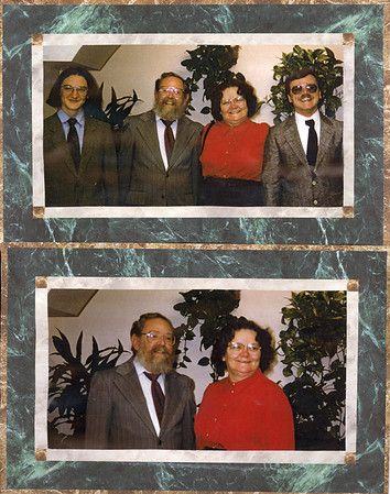 James, Bruce, Polly and John  Mom and Dad 30 March 1996