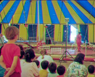 James at circus, Lamont Ca.