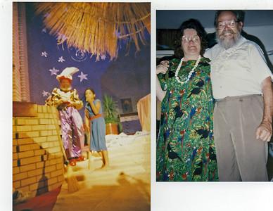 Dad as King Kaspar with Amahl November1993 Mom and Dad ????