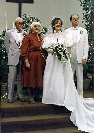 Lora and Daves wedding.