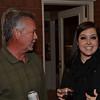 Aaron's dad and Allyssa