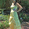 Alexis in prom dress with price tag showing. :-)