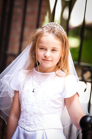 Olivia {first communion}