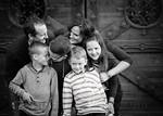 Olsen Family 74bw