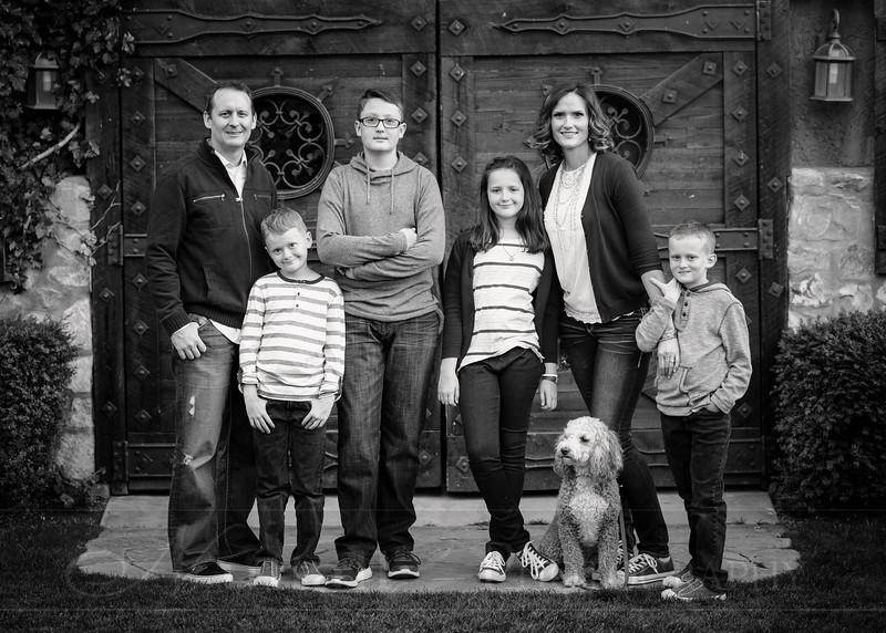 Olsen Family 71bw