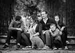 Olsen Family 57bw