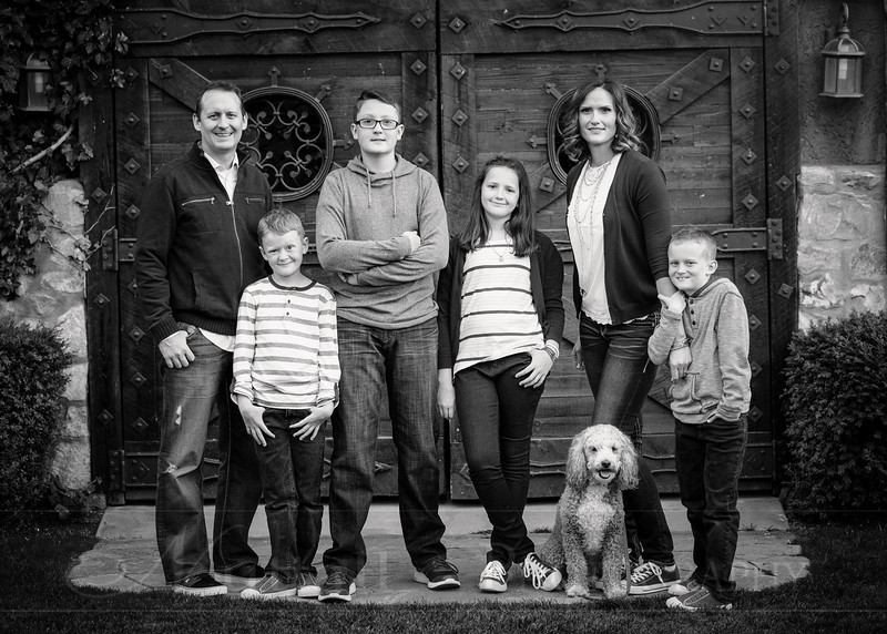Olsen Family 73bw