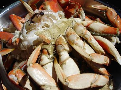 Fresh caught crab