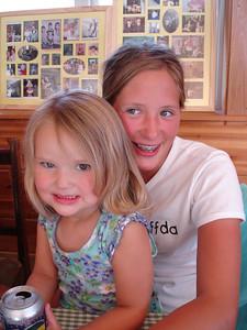 Audrey and Kira