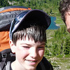 Adam and Steve above Round Lake in Olympic National Park, July 2009