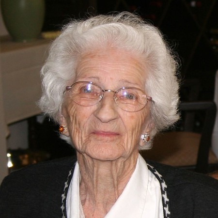 Oma 92 jaar.