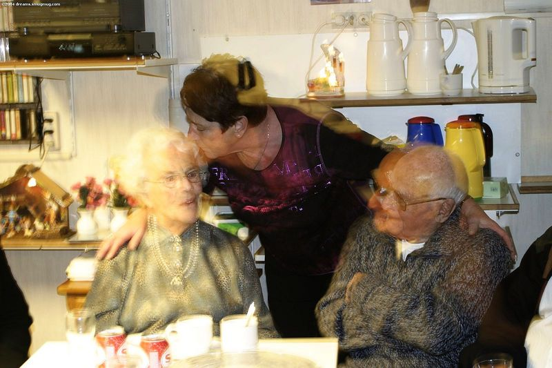 Oma, opa and tante Rietje