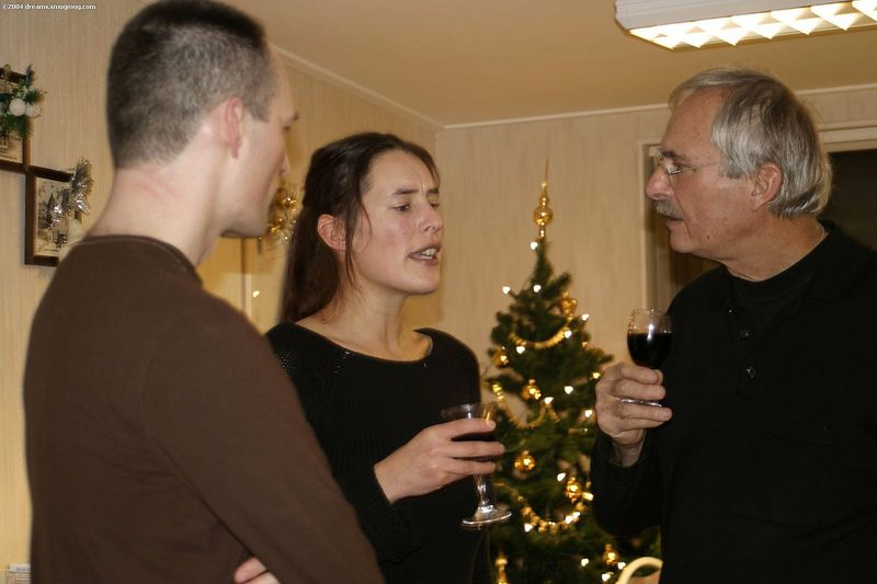 Stefan, Evelien and oom Rolf - the Strubes