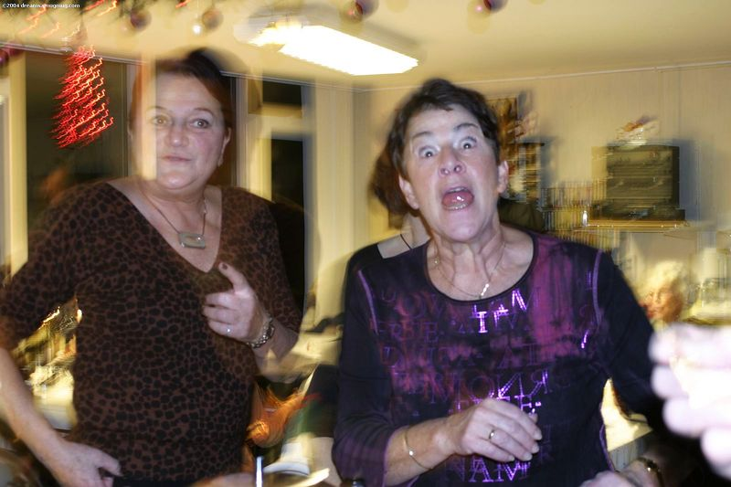 Tante Rietje mad that keep taking pictures...