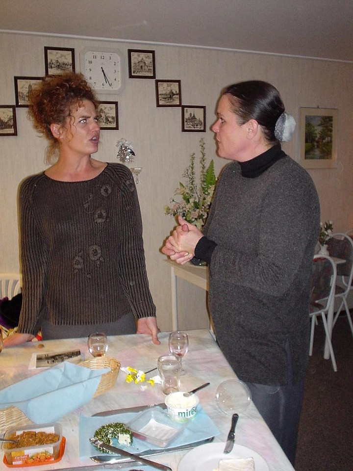 Indrig (Sander's wife) and Rebecca