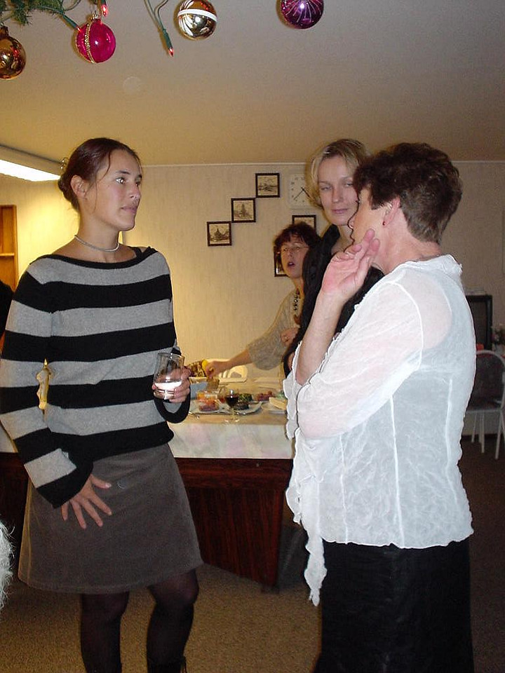 Evelyn, Petra and Tante Rietje
