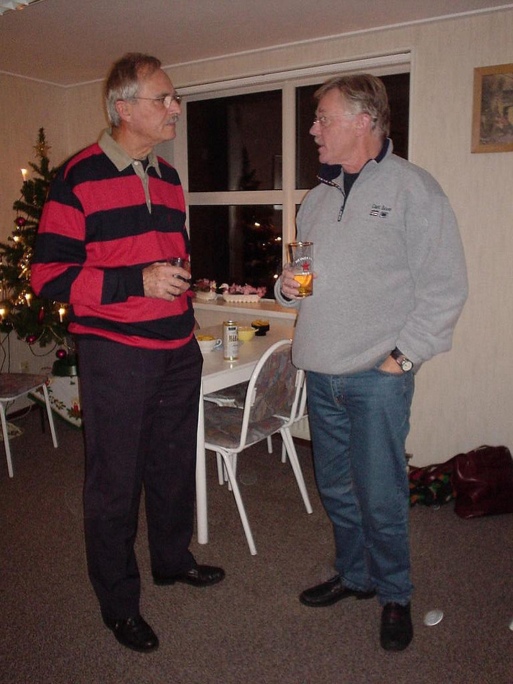Two of my uncles: oom Rolf and oom Bert