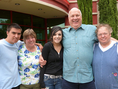 Kyle, Mary Ann, Mariya, Carl, & Gloria