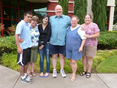 Kyle, Mary Ann, Mariya, Carl & Gloria, and MP