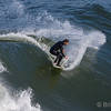 Surfer, Seaside Cove, 500 MM lens with 2X extender