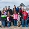 Family reunion photo at Cannon Beach