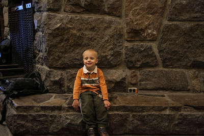 Trevor at historic Timberline Lodge