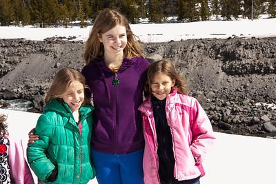 Sarah Ann, Rachel and cousin Olivia