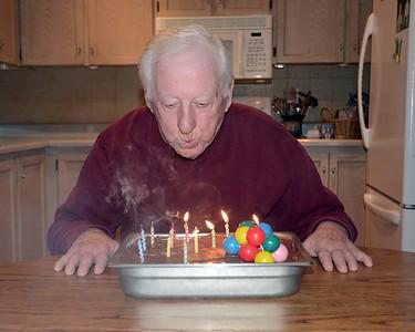 Ossie's 83rd Birthday 2013