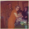 1970's granny in the kitchen