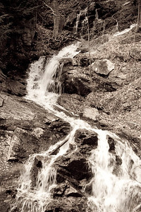 The Waterfalls below MacKenzie King Home