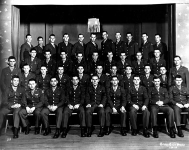 Roy Anderson 3rd Row 2nd from Right: Jan 10, 1944