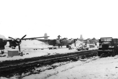 This snow storm in December 1951 was one of the few night which ground the 3rd Bomber Group for 1 night!