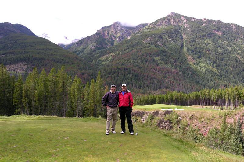 "Greywolf golf course.<br /> Hole #6 - ""Cliffhanger"""