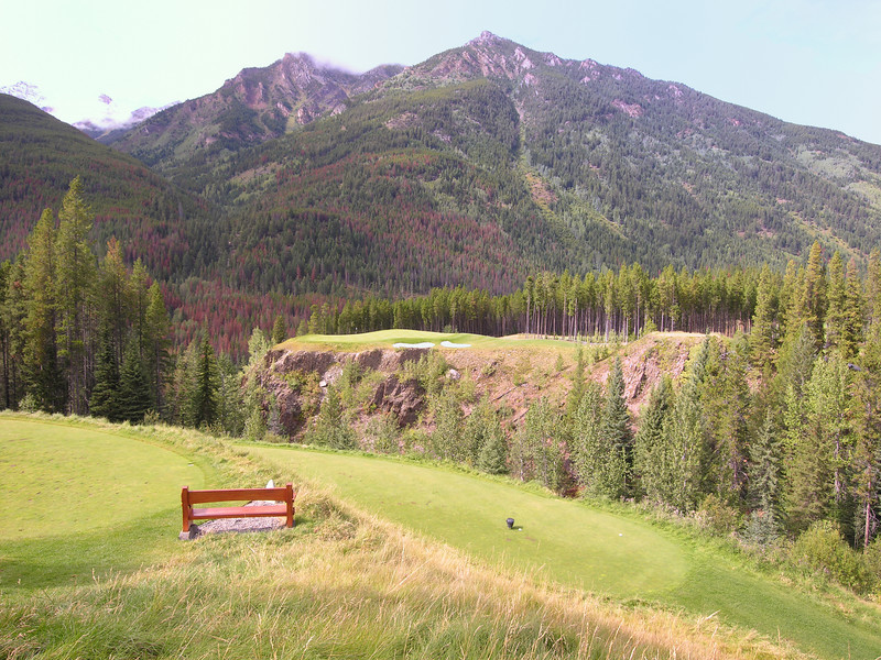 Greywolf Golf Course<br /> Hole #6<br /> Cliffhanger
