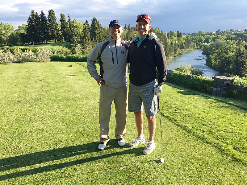 Terry and Tim - Calgary Golf and Country Club