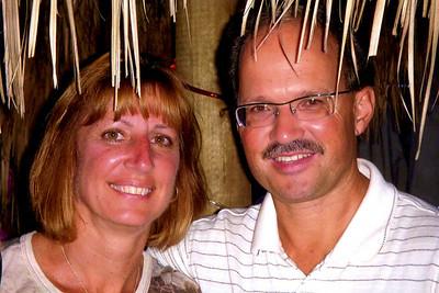 Mark & Diane in Hut001