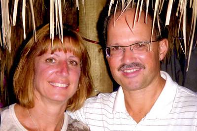 Mark & Diane in Hut 1a