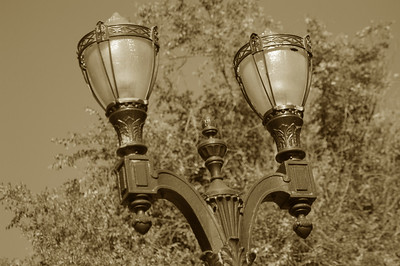 Monte Vista Light Post