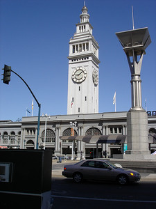 We had a picnic in the Ferry Building.