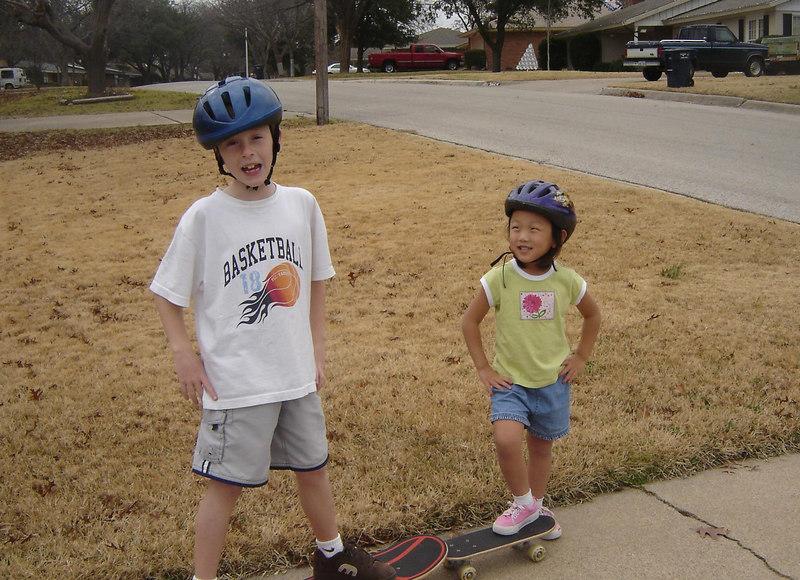 Cool skater dudes!