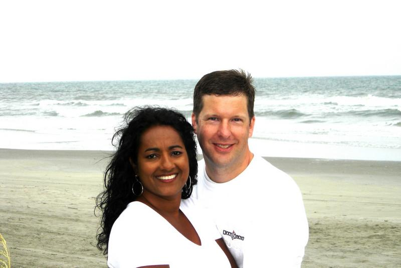 Andrew and Munni at Myrtle Beach