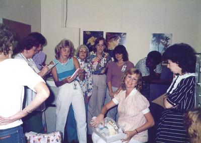 McDonnell Douglas Baby Shower October 1985