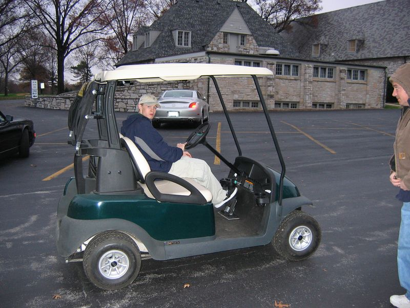 <big>We Visit Jack Working at Westwood Country Club<BR> November 20, 2004
