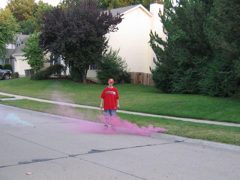 <big>Jack with Fireworks</big><BR> Fourth of July 2004