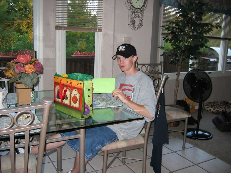 <big>Jack's 17th Birthday<BR></big> September 13, 2004